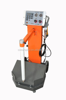 Pulse Powder Coating Equipment Spray Gun Vibration Box Feed Type