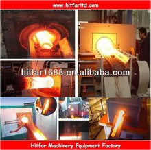 200KW IGBT Medium Frequency Induction Hot Forging Furnace for Heating metal rods/bars/bolts/shafts/nuts