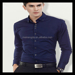 hot sale fashion slim fit plain mens shirts mumbai