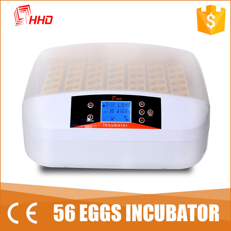 hhd 12 month warranty puppy incubator for the eggs with automatic egg turner model YZ-56A