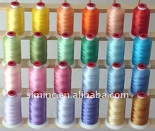 Polyester Embroidery Thread 5500 Yard Cones ...