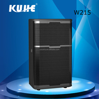 2016 Wholesale Outdoor Speaker W215 Powerful Full Range Dual 15 inch Outdoor Speaker Box