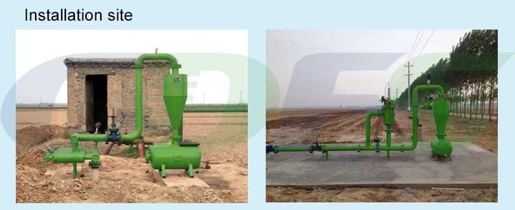 Centrifugal Sand remove Filter for Agriculture