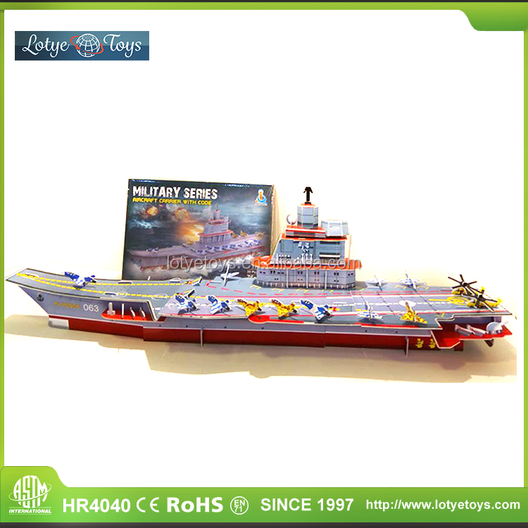 Super cool model ship 3d paper puzzle toy for kids