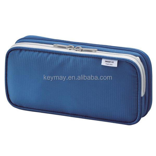 Fabric pocket pen case popular pencil cosmetic bag stationery bag