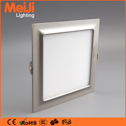 Square recessed ultra thin led light panel light from Zhongshan factory