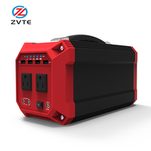2 DC Ports and 4 USB Ports Portable Generator Power Inverter, 73000mAh CPAP Battery UPS Power Supply Charged by Solar Panel/Wall