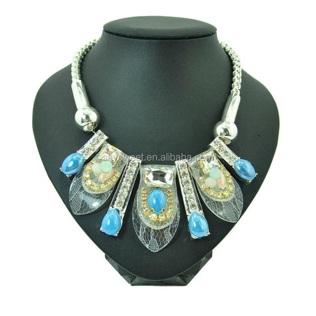 lace beads necklace, Egyptian pharaoh jewelry, gothic god necklace wholesale