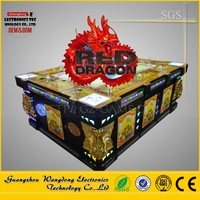 2016 fish 3D Red Dragon, Wholesale Commercial Indoor Arcade Mini Catch Fish Game Machine for sale