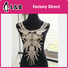 THC-720 trendy Polyester collar pattern neck design of blouse