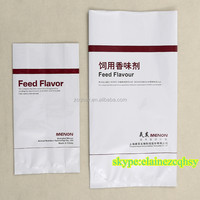 pp laminated kraft paper bags for feed flavor 20kg, paper coated flavor packing bags , paper -plastic bags, poly paper sacks
