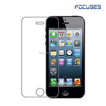 2016 Top Quality 9H 2.5D 0.33mm Premium pure glass Clear Tempered Glass Screen Protector for Iphone 5 5S 5C SE