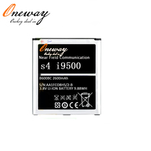 phone battery for samsung galaxy s4 i9500 2600mAh battery B600BC NFC battery