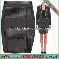 2014 China hot sale new design pictures women pencil skirts