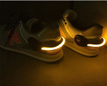 Traffic Safety Flashing waterproof IPX5 light up safety clip , shoe safety clip for night running