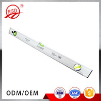 High accuracy measuring tools aluminum alloy spirit level with 3 bubbles