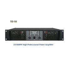 Enping new product big power 2x1800w TD-18 high Professional power amplifier for Outdoors Performance Series