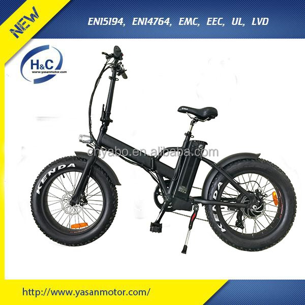 2017 High Quality 20 Inch 350W/500W electric mountain bike bycicle/ Electric mountaion fat tire bike for adults