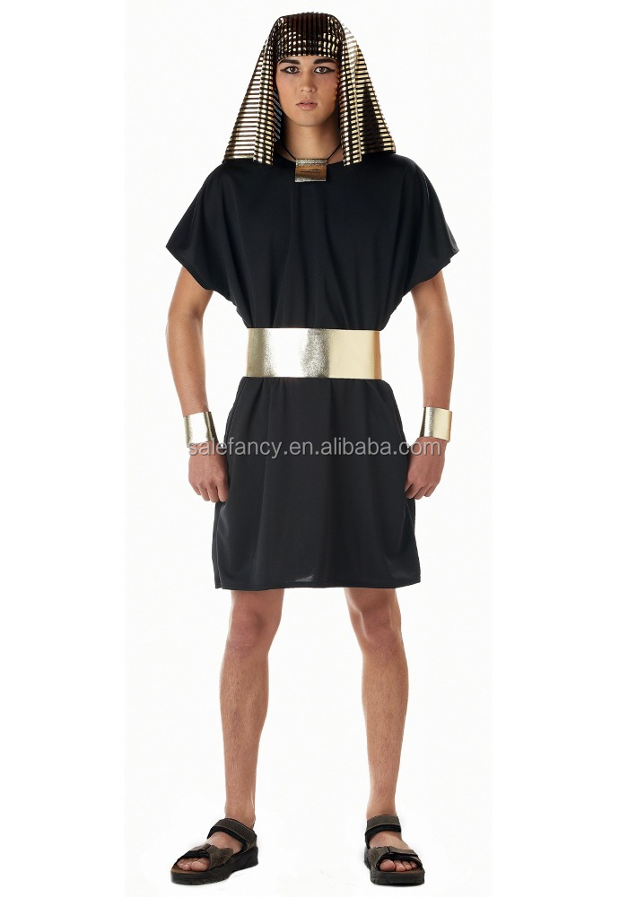 Adult egyptian pharaoh costume halloween cosplay men costume QAMC-0243