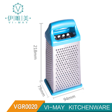 VGR0020 4 Sides Stainless Steel Kitchen Tool Cheese Box Grater Vegetable Grater grater box