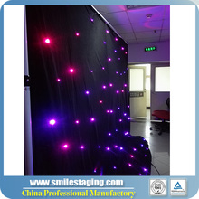 LED star curtain big commercial/led star effect professional stage lighting curtain