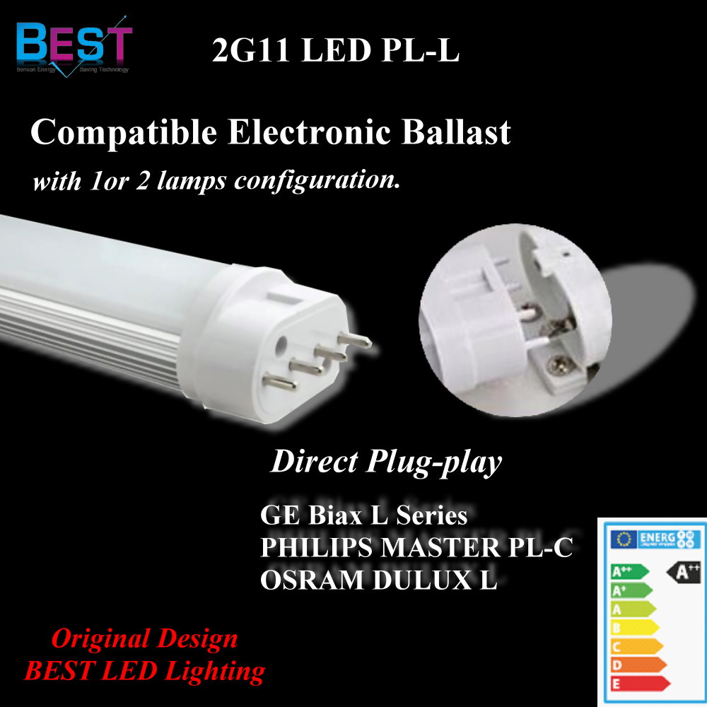 2G11 pl light; LED 2G11 PL Bulb