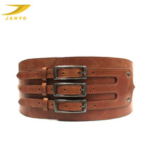 Custom quality cowhide genuine leather belt for women