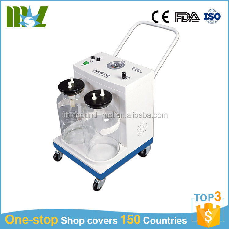 Medical suction machine cheap price manual suction unit device for sale