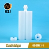 Twin Adhesive Cartridge Manufacturer for 600ml 1:1 epoxy