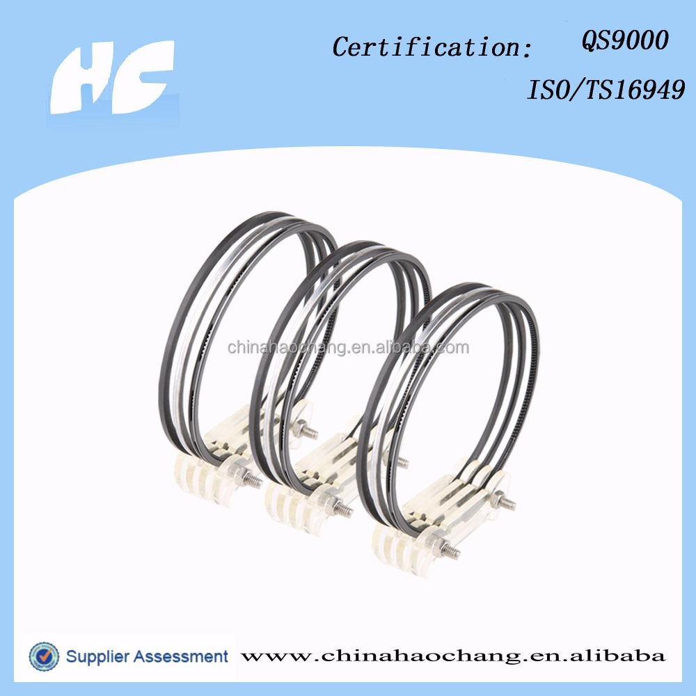 Used for Yanmar marine engines spare parts piston ring