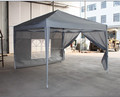 hot selling poly sail steel frame fold pop up garden gazebo 3x3m