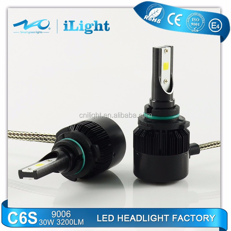 COB PRO chips 30w 9006 HB4 LED Headlight car kits 3200LM Car LED head light bulb replace xenon hid bulbs