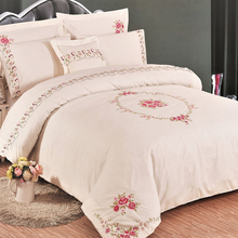 KOSMOS new design home linen high quality cotton bed in a bag comforter sets