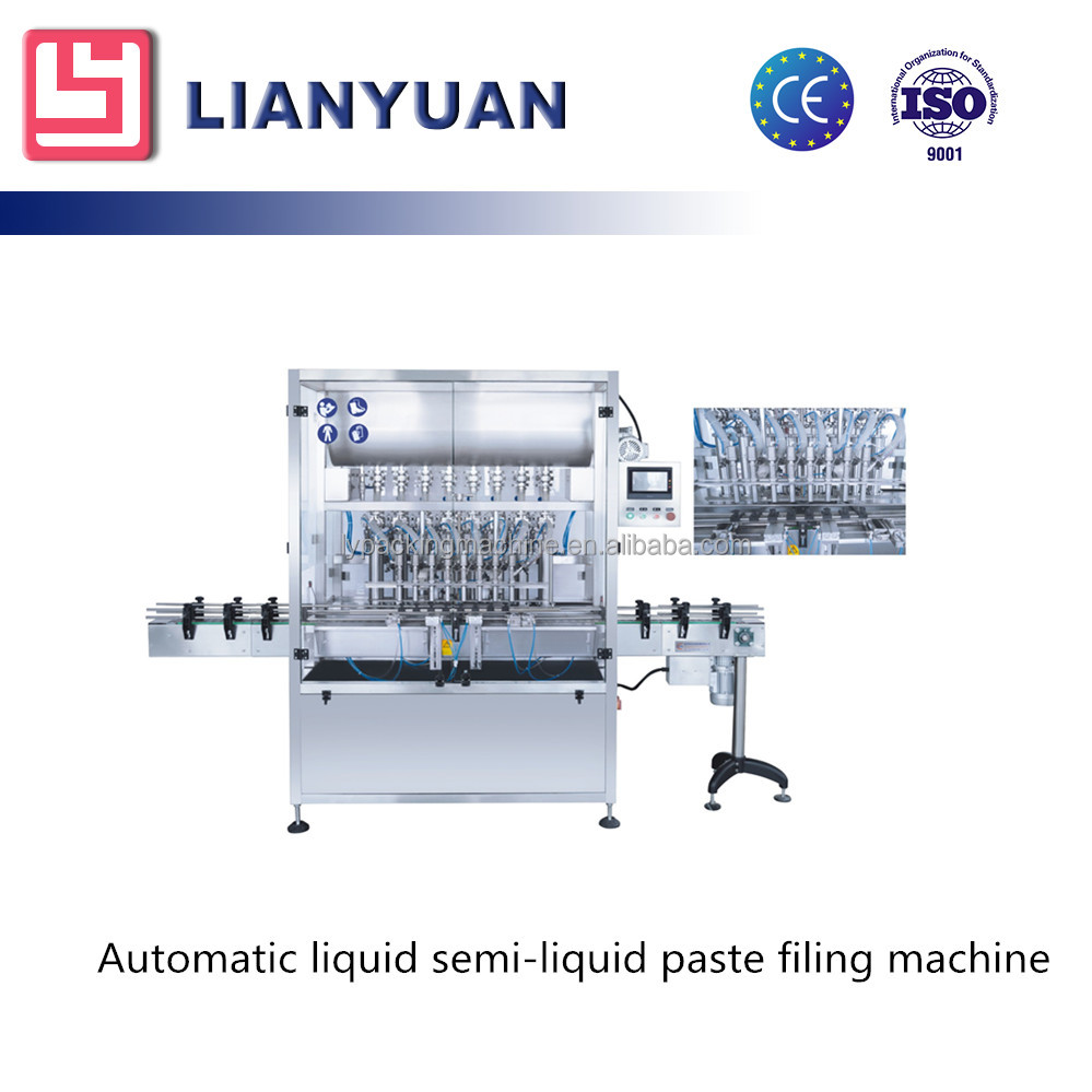 Customized Automatic Paste And Liquid Bottle Filling Machine liquid and paste filling machine