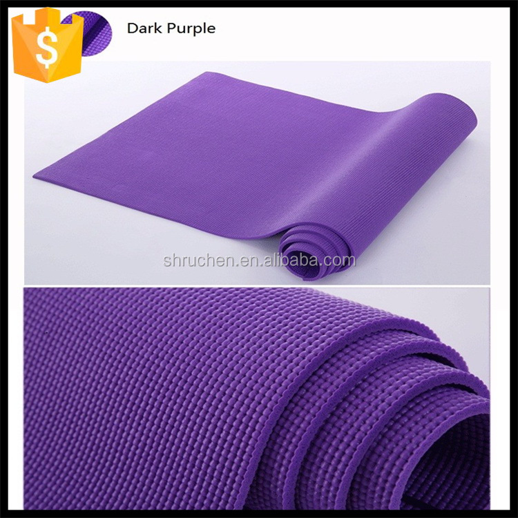 Eco-friendly stylish design popular pvc pro yoga mat