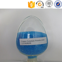 Cu 25% Water Soluble Dry Blue Crystal Fertilizer Grade Copper Sulfate Price