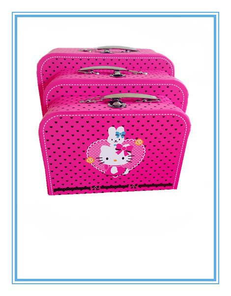 kitty Cardboard Baby suitcase