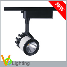 3 4 Wires Adapter 20W 30W COB LED Track Light for Jewelry Stores