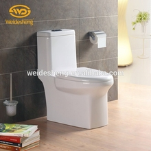 Factory price one pcs toilet, sanitary ware one piece toilet, elongated cera toilet