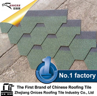 Mosaic Roof Tiles Hexagonal Asphalt Shingles