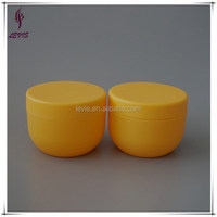 120ml bowl shaped plastic jar hair product containers