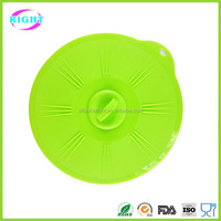 microwave oven bowl lid/ custom silicone lid for bowls/flower shape silicone bowl lid