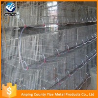 Hot sale breeding rabbit cage in kenya farm/ commercial rabbit breeding cages for sale