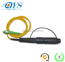 Outdoor connectors waterproof fiber optic cable assembly H connector matching with Corning Optitap patch cord