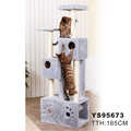 Cat Tree Tower Condo Furniture Scratch Post Cat Pet House Toy New
