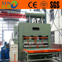 Door skin hot press machine/ short cycle hot press machine for door skin/ Door skin making machine