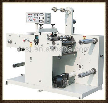 WIth automatic meter counting Rotary Label Slitting Machine