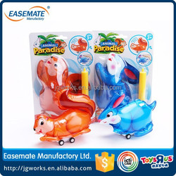 The Newest low price Inertia inflatable cartoon animals cars for wholesale