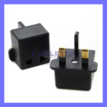 Travel Charger Plug Adapter US USA EU European Australia AU to UK United Kingdom Plug Converter