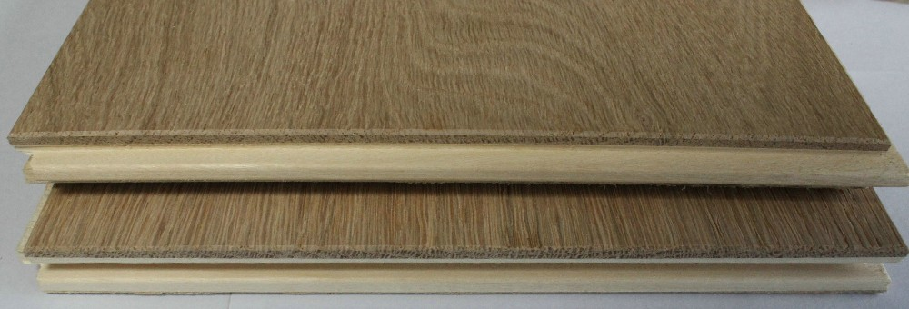 Rustic style A mixed colour handcrafted antique CARB2 Certification MATTE UV lacquer 3 - ply oak engineered Wood Flooring